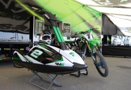 GK-TO-SXR installed on Ryan Villopoto's Kawasaki SXR