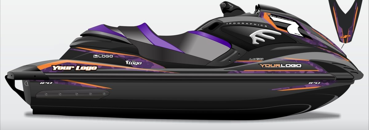 Full Custom Jetski Graphics Kit